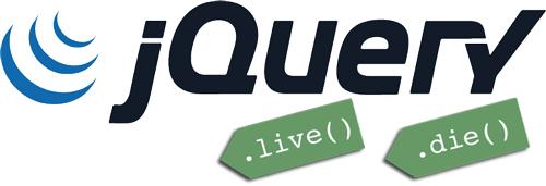 jQuery .live(), .die()