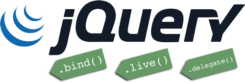 jquery tags bind live delegate